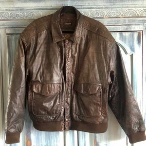 Wilson's Vintage Adventure Bound Bomber Jacket